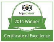 Trips Advisor Winner